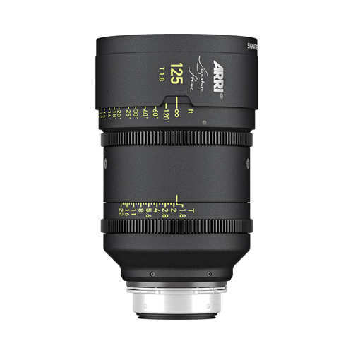 ARRI Signature Prime 125mm T1.8 Lens