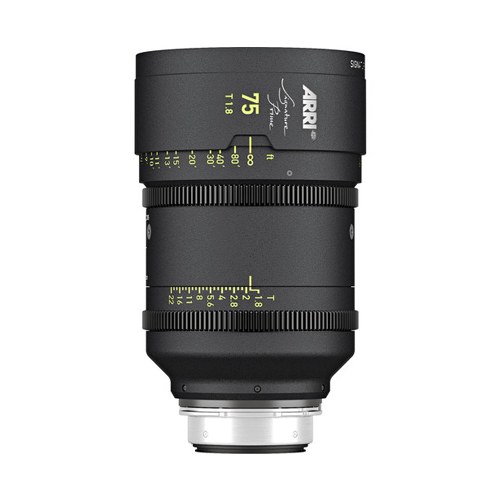 ARRI Signature Prime 75mm T1.8 Lens